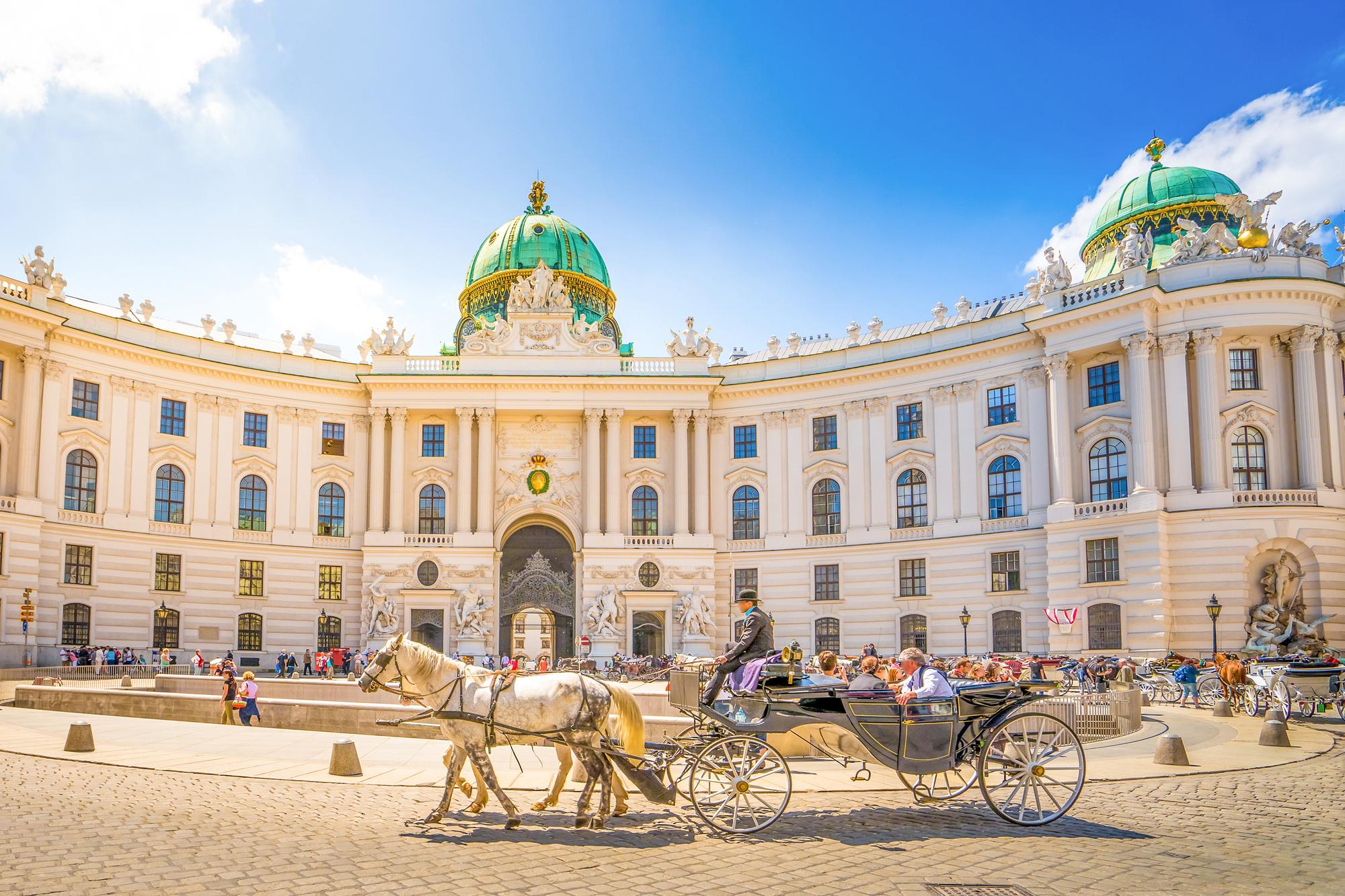 Alte Hofburg, Vienna, Austria, ; Shutterstock ID 391591339; Purchase Order: globista + intern