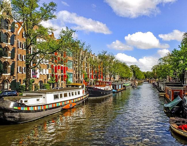 Amsterdam Kurztrip Grachten