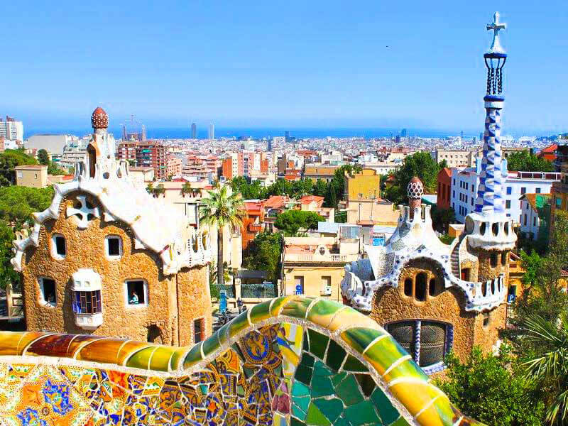Barcelona Kurztrip Parc Güell