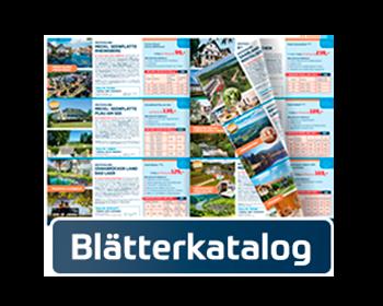 Blätterkatalog-Reiseprospekt