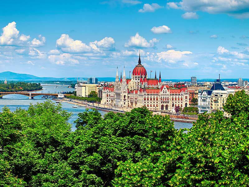 Budapest Kurztrip Ungarisches Parlament