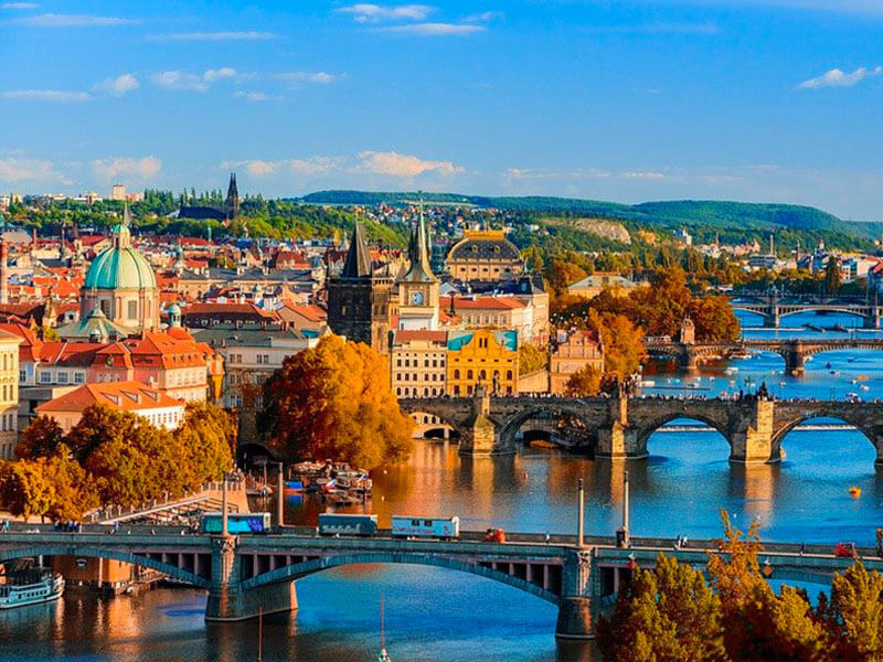 Prag Reisen Karlsbrücke
