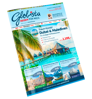 Reiseprospekt-Globista