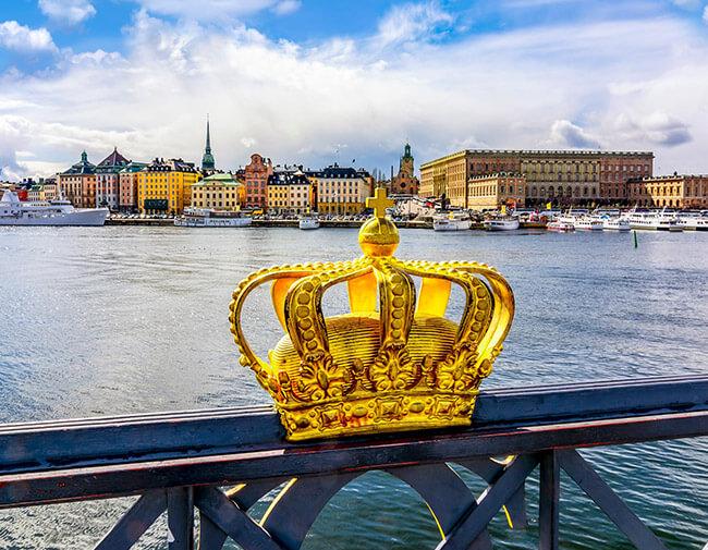 Stockholm Städtereise Krone